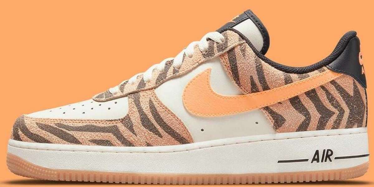 Daktari Stripes Appear On This New Coming Nike Air Force 1 Low