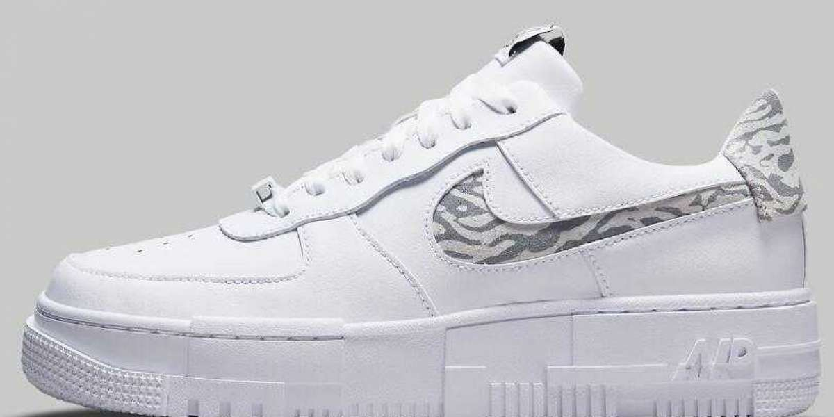 The New Air Force 1 Pixel Coming With Muted Zebra Prints